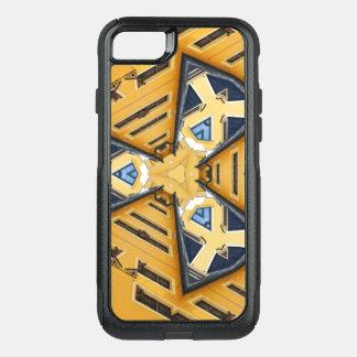 Kaleidoscope Mandala in Hungary: Pattern 201 OtterBox Commuter iPhone 8/7 Case