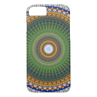 Kaleidoscope Mandala in Portugal: Embassy Pattern Case-Mate iPhone Case