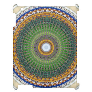 Kaleidoscope Mandala in Portugal: Embassy Pattern iPad Covers