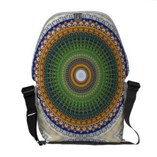 Kaleidoscope Mandala in Portugal: Embassy Pattern Messenger Bags