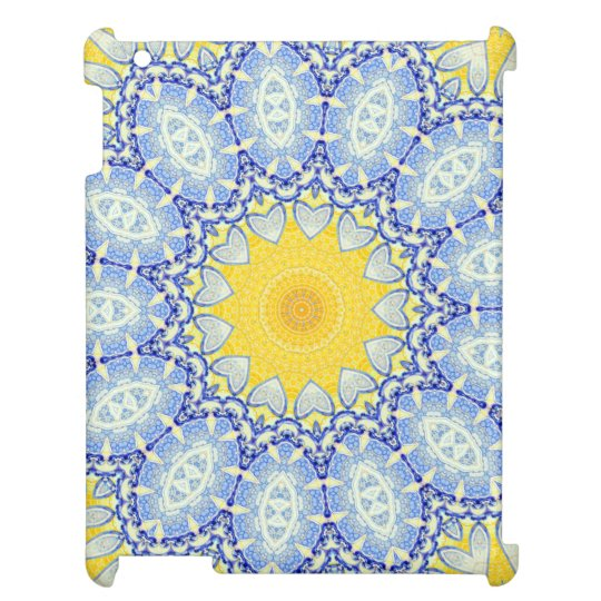 Kaleidoscope Mandala in Portugal: Pattern 224.10 Case For The iPad