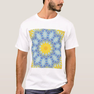Kaleidoscope Mandala in Portugal: Pattern 224.10 T-Shirt