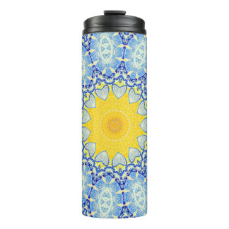 Kaleidoscope Mandala in Portugal: Pattern 224.10 Thermal Tumbler