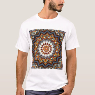 Kaleidoscope Mandala in Portugal: Pattern 224.11 T-Shirt