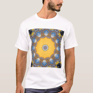 Kaleidoscope Mandala in Portugal: Pattern 224.4 T-Shirt