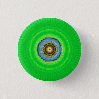 Kaleidoscope Mandala in Portugal: Pattern 224.5 1 Inch Round Button