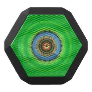 Kaleidoscope Mandala in Portugal: Pattern 224.5 Black Bluetooth Speaker