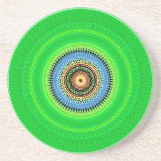 Kaleidoscope Mandala in Portugal: Pattern 224.5 Coaster