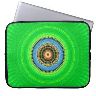 Kaleidoscope Mandala in Portugal: Pattern 224.5 Laptop Sleeve