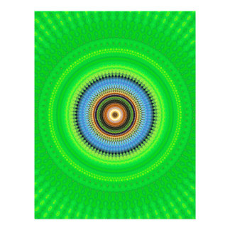 Kaleidoscope Mandala in Portugal: Pattern 224.5 Letterhead