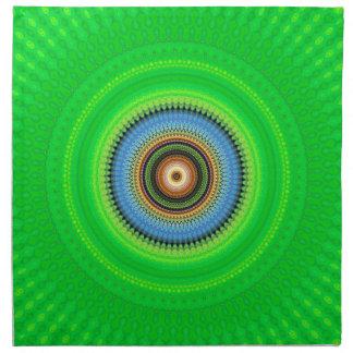 Kaleidoscope Mandala in Portugal: Pattern 224.5 Napkin