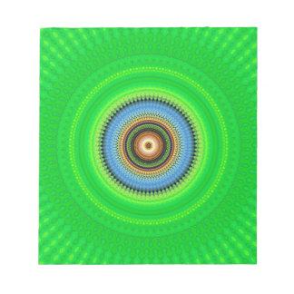 Kaleidoscope Mandala in Portugal: Pattern 224.5 Notepad