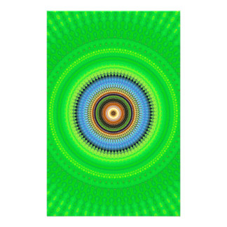 Kaleidoscope Mandala in Portugal: Pattern 224.5 Stationery
