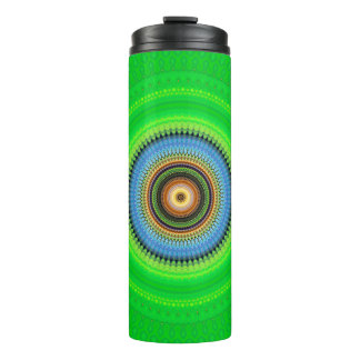 Kaleidoscope Mandala in Portugal: Pattern 224.5 Thermal Tumbler