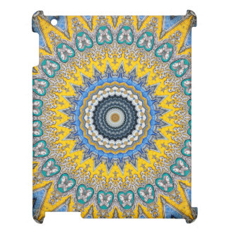Kaleidoscope Mandala in Portugal: Pattern 224.8 Case For The iPad