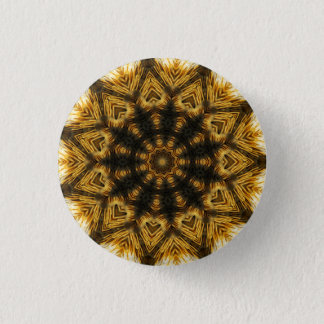 Kaleidoscope Mandala in Slovenia: Pattern 210.1 1 Inch Round Button