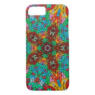 Kaleidoscope Mandala in Slovenia: Pattern 213.4 iPhone 8/7 Case