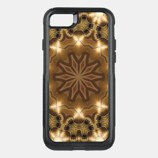Kaleidoscope Mandala in Vienna: Pattern 221.3 OtterBox Commuter iPhone 8/7 Case