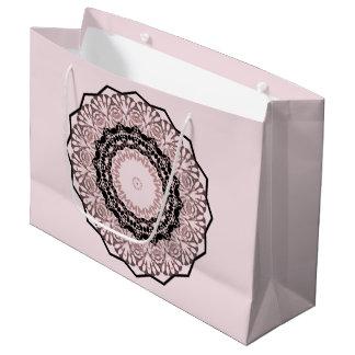Kaleidoscope , mandala large gift bag