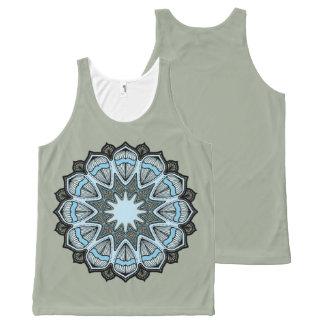 Kaleidoscope Mandala Tank Top