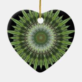 Kaleidoscope Mandela Art Ceramic Ornament