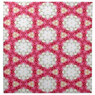 Kaleidoscope mosaic napkin