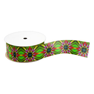 Kaleidoscope of Brightness Grosgrain Ribbon