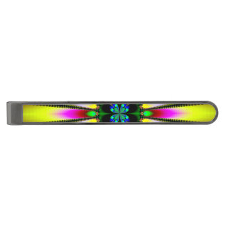 Kaleidoscope of Brightness Gunmetal Finish Tie Bar