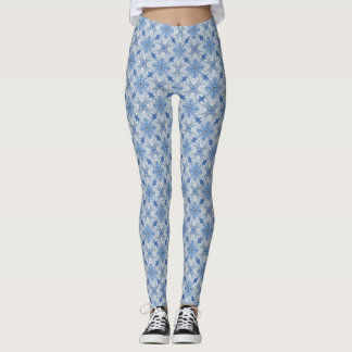 Kaleidoscope of Clouds Over San Antonio Texas Leggings