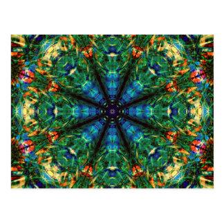 Kaleidoscope of Colors Postcard