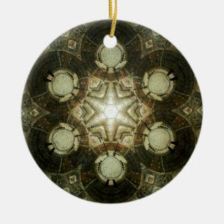 Kaleidoscope of Dowtown Kansas City Library Ceramic Ornament