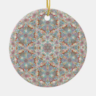 Kaleidoscope of Sky Stations, Kansas City Ceramic Ornament