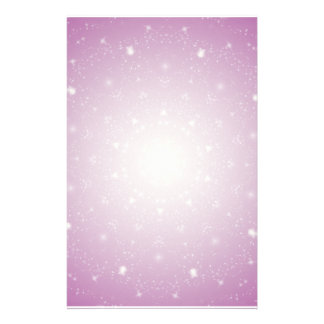 Kaleidoscope of Stars Stationary Customized Stationery