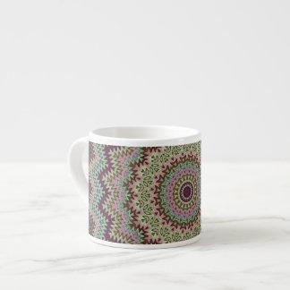 Kaleidoscope Pattern Espresso Mug