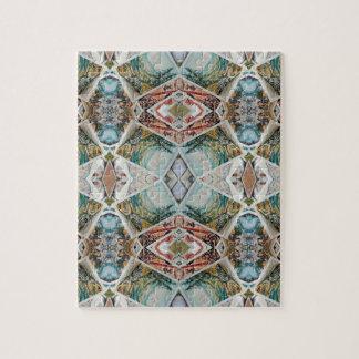 kaleidoscope pattern jigsaw puzzle