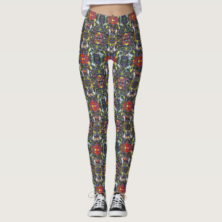 Kaleidoscope Pattern Leggings