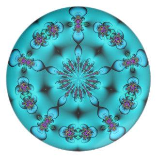 Kaleidoscope Pattern Plate