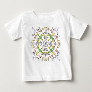 Kaleidoscope rabbits baby T-Shirt