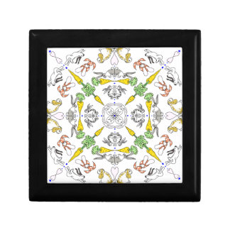 Kaleidoscope rabbits gift box