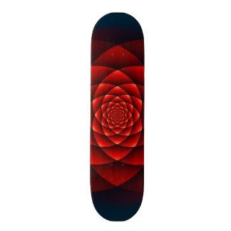 Kaleidoscope ROSE red + your idea Skate Decks