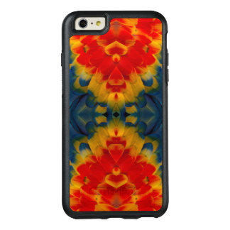 Kaleidoscope Scarlet Macaw design OtterBox iPhone 6/6s Plus Case
