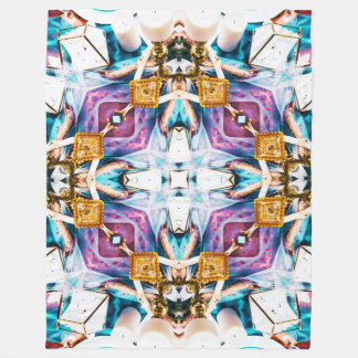 Kaleidoscope Series V1 Fleece Blanket