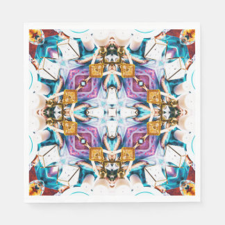 Kaleidoscope Series V1 Paper Napkins