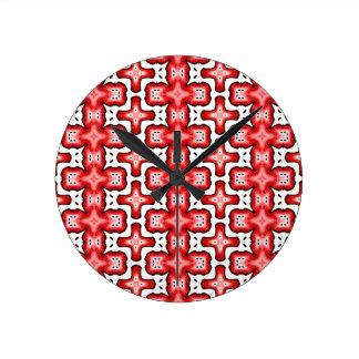 Kaleidoscope texture clocks