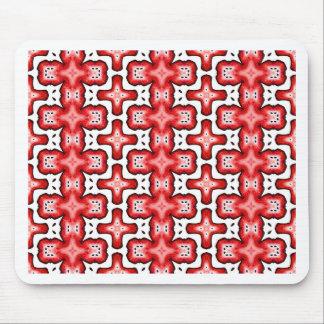 Kaleidoscope texture mouse pad