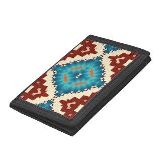 kaleidoscope tri-fold wallet