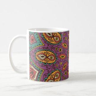 Kaleidoscope Yoga Pattern Coffee Mug