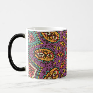 Kaleidoscope Yoga Pattern Magic Mug