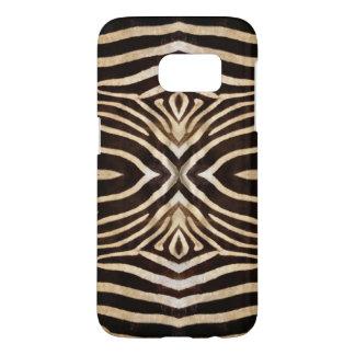 Kaleidoscope Zebra Fur Pattern Samsung Galaxy S7 Case