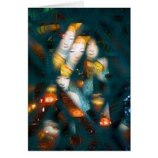 Kaleidoscopic Buddha • Greeting Card